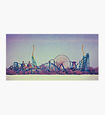 Cedar Point Skyline Photographic Print