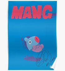 BT21 - MANG (SIGNED VER.) Poster