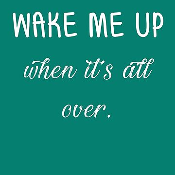 Wake me up when it's all over - Avicii by laus88