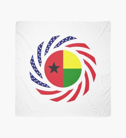 Guinea Bissau American Multinational Patriot Flag Series Scarf