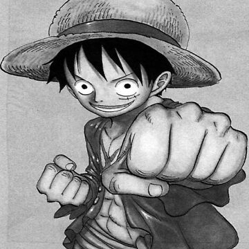 Luffy One Piece Lapiz by Davidisla39