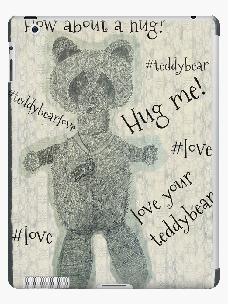 A Teddy Bear Drawing With Captions by IvanaKada