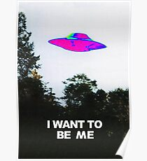 I want to be me Poster