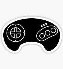 Megadrive Genesis Controller logo Sticker