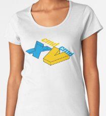 cmd x | cmd v Women's Premium T-Shirt