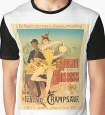 l'Amant des Danseuses 1986 French Poster Art Graphic T-Shirt