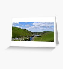 Opua Dam Release Greeting Card