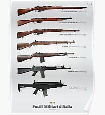 Fucili Militari d'Italia Poster