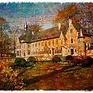 Forgotten Postcard - Groot Bijgaarden, Belgium by Alison Cornford-Matheson