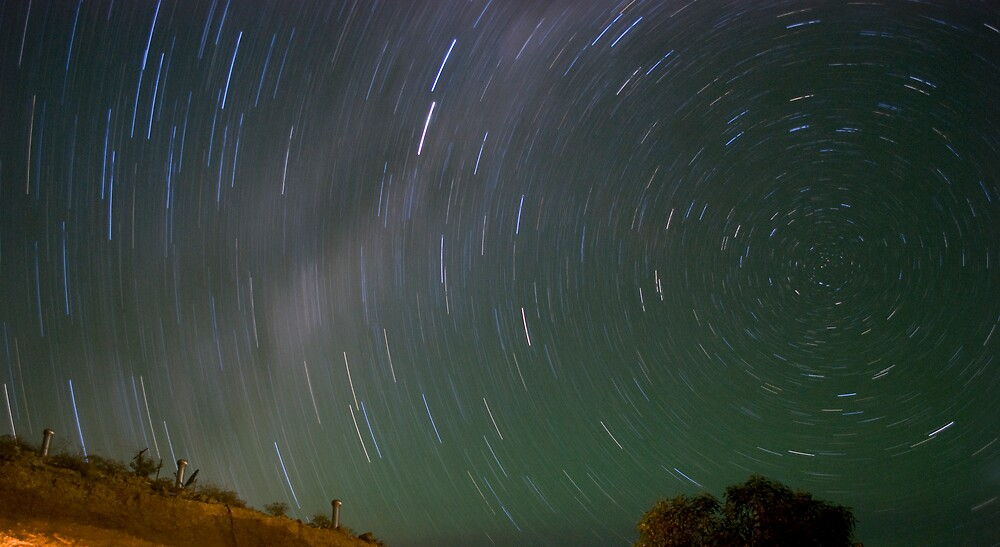 Under the South Celestial Pole by wolfcat