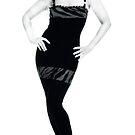 B&W Mini Dress by RitaGemTaur