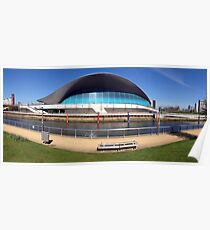 The London Aquatics Centre II Poster