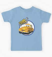 Tom the Tow Truck of Car City Kids Tee