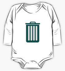Trashcan One Piece - Long Sleeve
