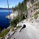 Cleetwood Trail, Crater Lake - 7367 by BartElder