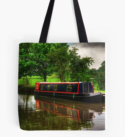 Canal Narrow Boat - Ripon Tote Bag
