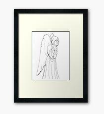 Weeping Angel - Enchanted Spirits Framed Print