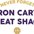 Never Forget Aaron Carter Beat Shaq by Tom Hillmeyer