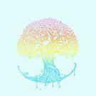 Tree of Life, genealogy, faith and mindfulness by SleeplessLady