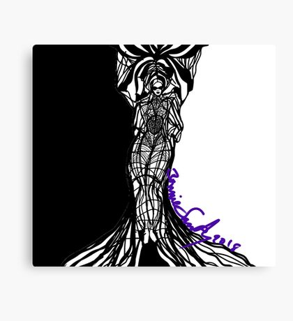 Woman Within Canvas Print