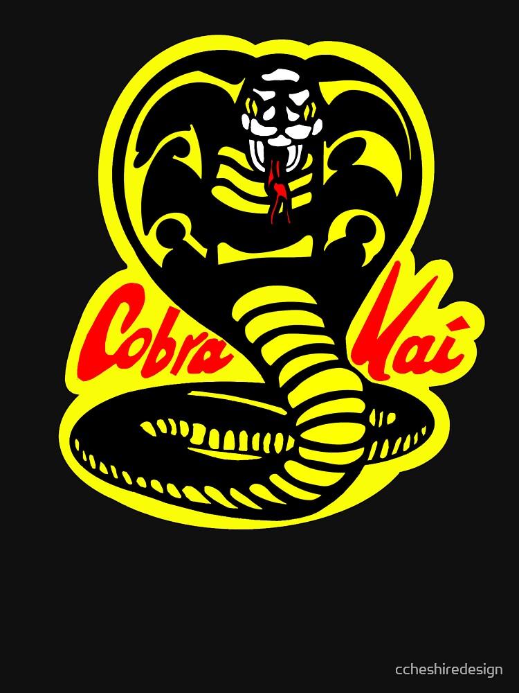 Cobra Kai Karate Kid Kein Gnade Streik Erste Schlange von ccheshiredesign