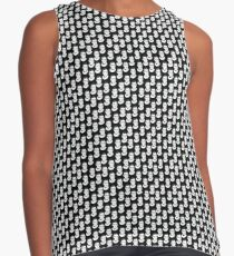 Ruth Bader Ginsburg Black and White Sleeveless Top