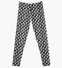 Ruth Bader Ginsburg Black and White Leggings
