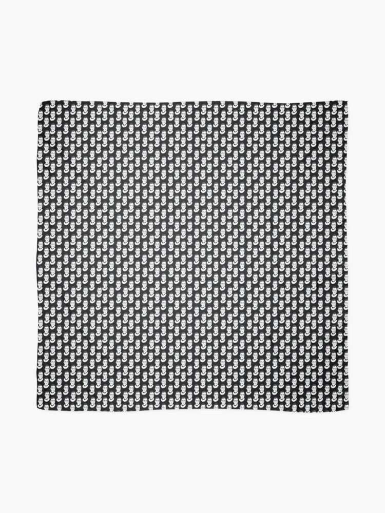 Alternate view of Ruth Bader Ginsburg Black and White Scarf