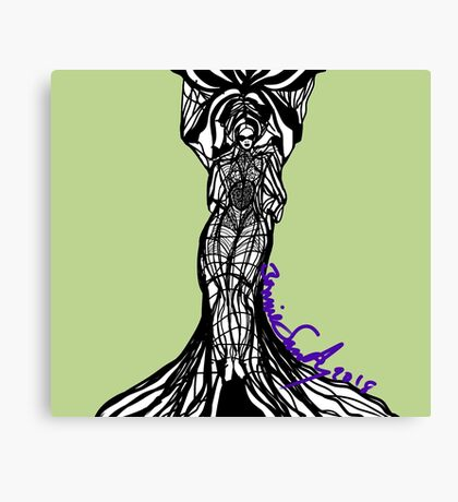 Woman Within3 Canvas Print