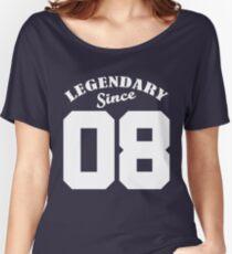 Legendary Since 08 2008 Birthday Gift Yrs Year Old T Shirt 10