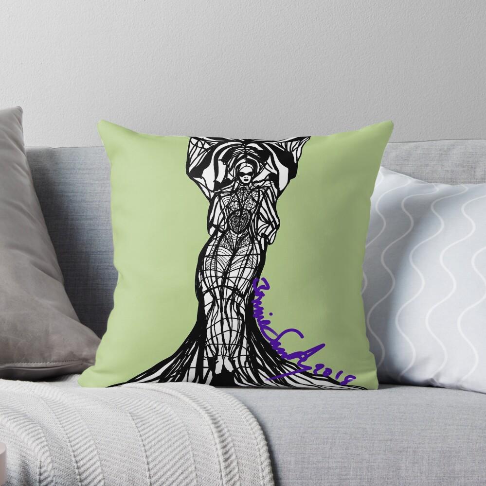 Woman Within3 Throw Pillow