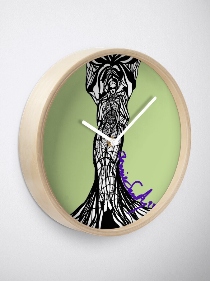 Alternate view of Woman Within3 Clock