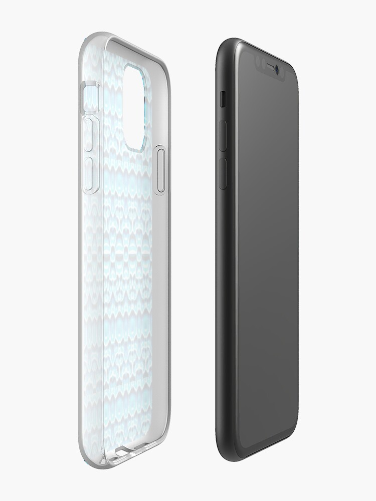 Coque iPhone « Girafe bleue », par JLHDesign