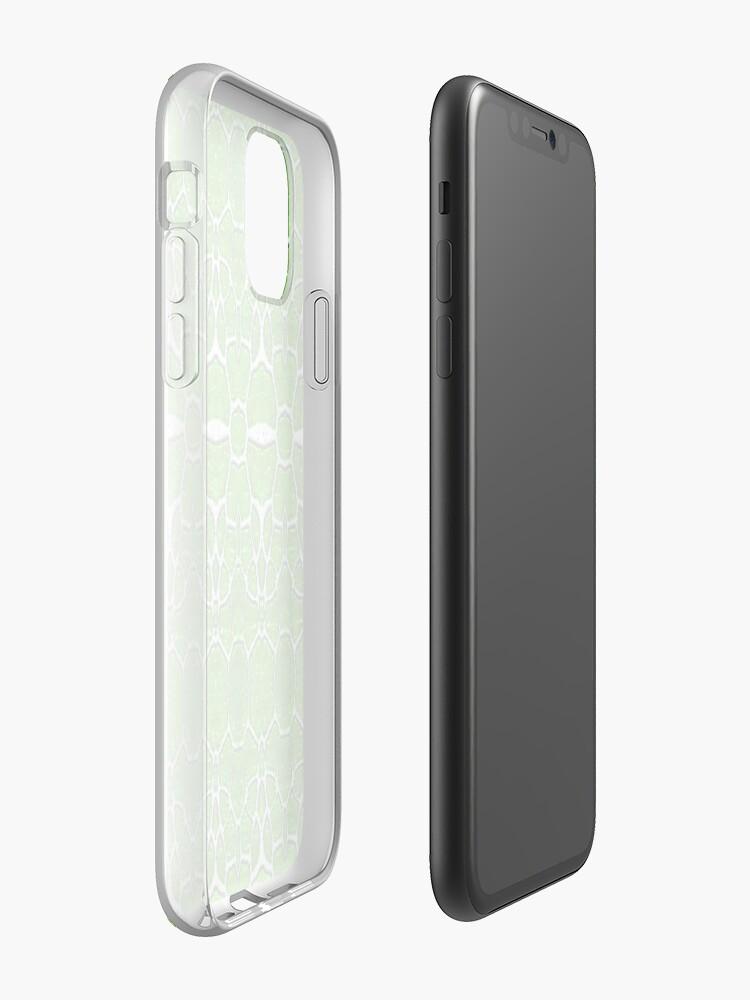 Coque iPhone «Girafe verte», par JLHDesign