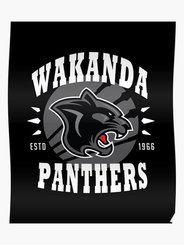 a5cb3c89 Wakanda Panthers | Poster