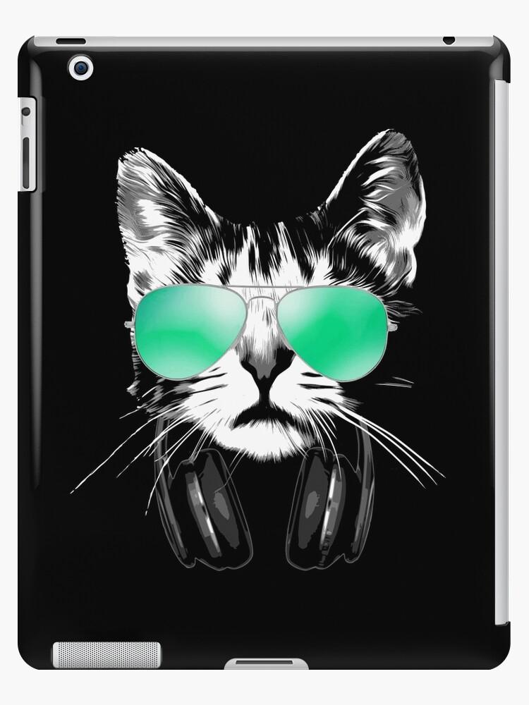 Cool DJ Cat by idaspark