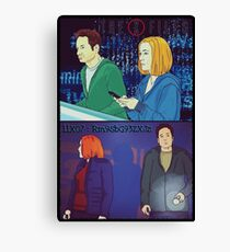 X Files 11X07 Followers by Mimie Canvas Print