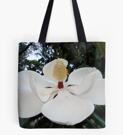 Magnolia Angel Tote Bag