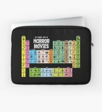 Periodic Table of Horror Movies Laptop Sleeve