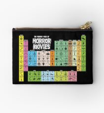 Periodic Table of Horror Movies Studio Pouch