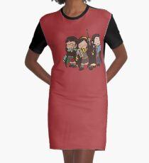siblings trio Graphic T-Shirt Dress