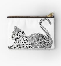 Zentangle Kitty Cat Studio Pouch