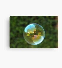 Earth Bubble Canvas Print