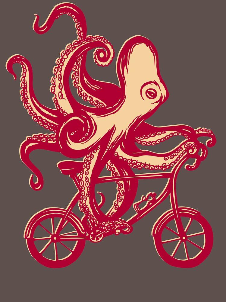 Radsport Oktopus von amelielegault