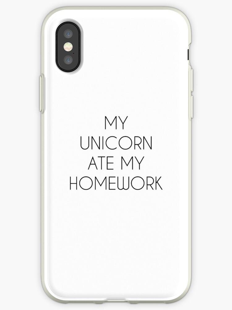 My Unicorn Ate Homework Cup Mug Shirt Cute Tumblr Design