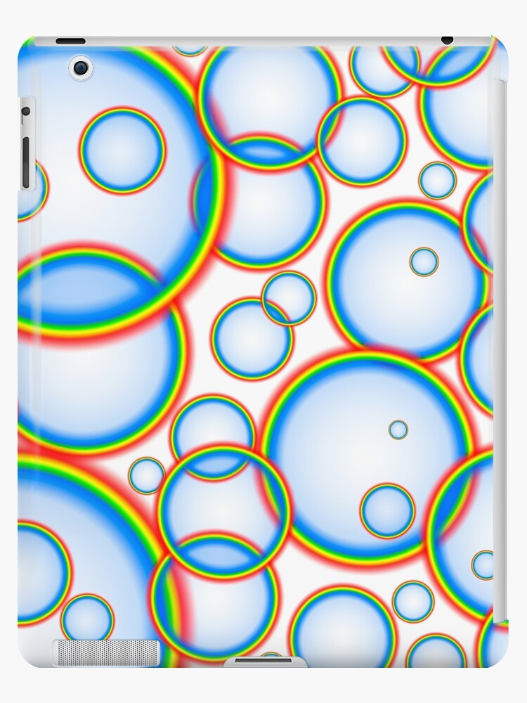 Rainbow bubbles by Gaspar Avila