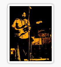 Jerry Garcia On Stage  c1971 Sticker