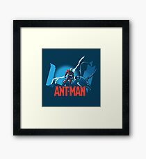 ANT-MAN / BAT-MAN MASHUP Framed Print