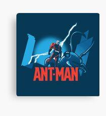 ANT-MAN / BAT-MAN MASHUP Canvas Print