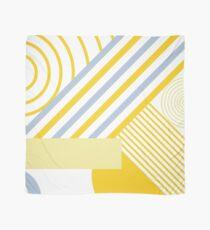 Yellow geometry Scarf